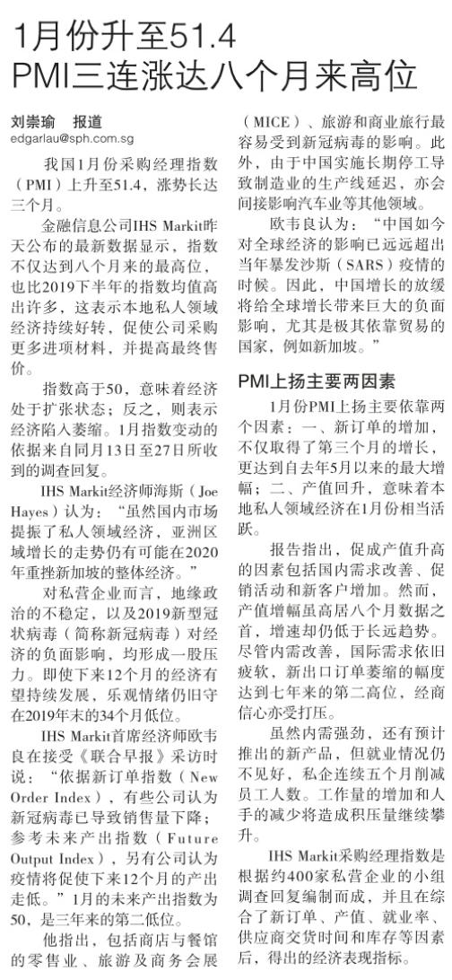 1月份升至51.4,PMI三连涨达八个月高位.png